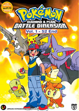 DVD ANIME Pokemon Diamond & Pearl Galactic Battles Vol.1-52 End + FREE ANIME