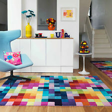 Checked Rectangle Children's Bedroom Rugs