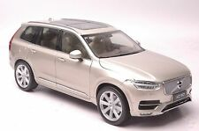 Volvo XC90 2015 SUV model in scale 1:18 Luminous Sand