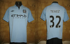 jersey MANCHESTER CITY 2013-2014 TEVEZ maillot shirt  camiseta maglia