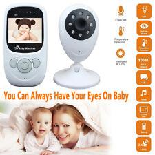 "2.4"" Audio Video Baby Monitor Wireless Digital Camera Night Vision Safety Viewer"