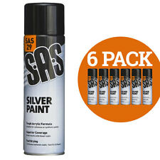 S.A.S Silver Paint Medium (Pack of 6)