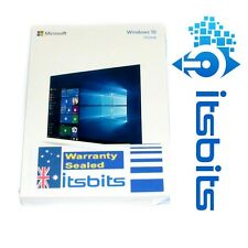 WINDOWS 10 HOME FULL RETAIL VERSION 32/64 BIT USB FLASH PEN & PRODUCT KEY SEALED