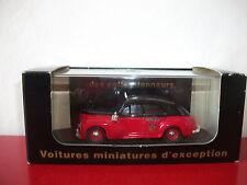 (20.9.15.11) Peugeot 203 taxi G7 rouge et noir 1/43 CEC Eligor