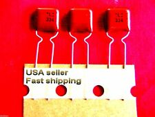 50 pcs  -  .33uf  (0.33uf)  50v  NP  metalized poly film capacitors