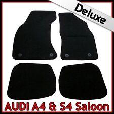 Audi A4 Saloon B5 1995-2001 Tailored LUXURY 1300g Carpet Car Floor Mats BLACK