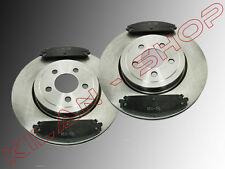 2 Bremsscheiben & Keramik Bremsklötze vorne Dodge Charger 2006-2014 345mm ∅