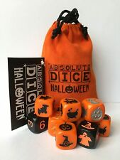 ABSOLUTE DICE HALLOWEEN DICE-FOR FUN&PARTIES-CAN BE PLAYED ANYWHERE- COOL GIFT