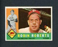 1960 TOPPS # 264 ROBIN ROBERTS   EX-MT +