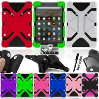 Shockproof Silicone Stand Cover Case For Amazon Fire HD10 5th/7th/9th Gen/ HD8.9