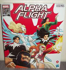 Marvel Legends Alpha Flight Box Set 6'' (Hasbro)