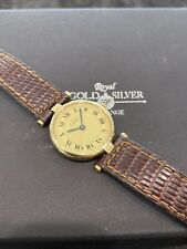 Cartier Must De Cartier Sterling Silver Vermeil Ladies Quartz Watch