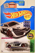 HOT WHEELS 2016 HW EXOTICS RENAULT SPORT R.S. 01 SILVER FACTORY SEALED