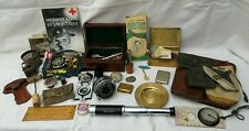 New listingCollectables Mixed Lot - Army Bits & Compasses Other Curios Antique & Vintage