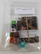 Marvel Dice Masters UXM UNCANNY X-MEN Starter SUPPLEMENT SET w/ Extra Dice