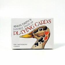 Simon Drew Playing Cards Peculiar and Preposterous Humour Double Pack