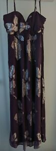 HOLLY WILLOUGHBY DRESS UK SIZE 14 84%SILK & 16% LUREX