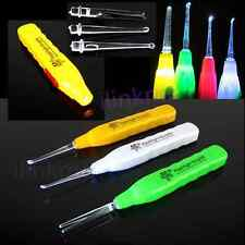 New Ear Pick Wax Remover Cleaner Curette With LED Flashlight Light