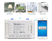 Sonoff 4CH R2 Remote Ctrl Smart WIFI 4 Channel Switch Home Auto Wireless Timer!!