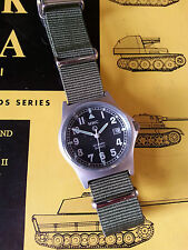 MWC G10 LM Military Watch Olive No Date 50m Water Resistance Boxed