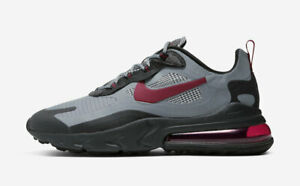 "Nike Air Max 270 React ""Houndstooth"" CT3135-001 Black Red Grey Mens Running Shoe"