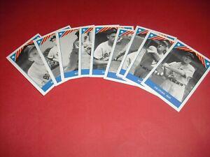 1987 TCMA BASEBALLS GREATEST TEAMS 1946 BOSTON RED SOX SET OF 9 CARDS  *EXC*