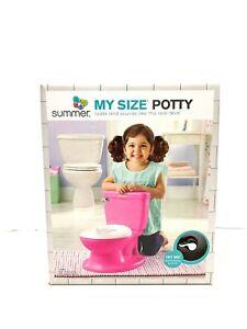 Summer My Size Potty Seat (Princess Pink)