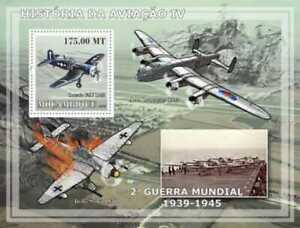 Mozambique - Aviation on Stamps - Stamp S/s - 13A-198