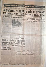 CALCIO SALERNITANA SCAFATESE GAMBINO FONTANESI CASERTANA PAOLANA AVELLINO DI E