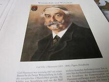 Wien Archiv 10 Wirtschaft 5054 Carl Freiherr von HAsenauer 1833-1894