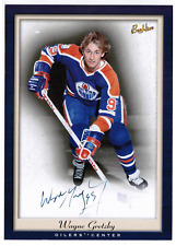 2005-06 Beehive 5x7 PhotoGraphs #PGWG Wayne Gretzky Oilers Auto SP NRMT