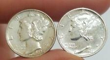 New listing 1940 & 1941 2 Proof Mercury Dimes (Item#76)