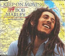 BOB MARLEY Keep on Moving EDIT & 2 MIXES SLY & ROBBIE CD single SEALED USA Seler