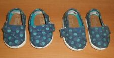 Toms | Alpargata Glow-in-the-Dark Jelly Fish Slip-On (Baby, Toddler) Size 2 & 3
