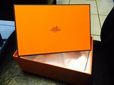 "Hermes Gift Box Two Empty Size 6"" X 4"" X 9"" New 100 % Original"