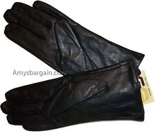 Woman's Chic Leather Gloves Winter Gloves Soft Lined gloves Guantes de piel nwt