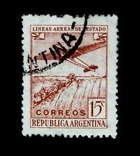 Argentina Stamps /1946-48 / Air Planes /  Used