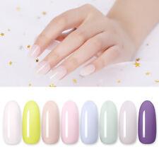 Harunouta 12ml Esmalte Gel UV Ice Cream Natural Color Soak Off Nail Gel Barniz