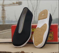 Traditional super thick soft sole Kung Fu Tai Chi Wing Chun training shoes