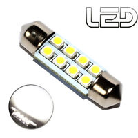 1 Ampoule navette c5w 36 mm 36mm 8 LED Blanc Habitacle Plafonnier coffre boite