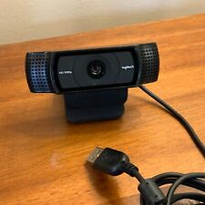 Logitech HD Pro Webcam C920, Widescreen Video Calling, 1080p Camera