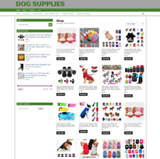 Dog Supplies E Store Website One Years Hosting Free Domain Home Business