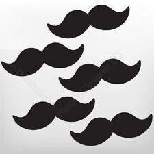 5x moustaches novembre Pack pour vélo, en voiture, fenêtre, mur, stickers autocollant vinyle ordinateur portable