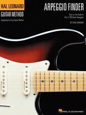 Arpeggio Finder - Easy-to-Use Guide to Over 1300 Guitar Arpeggios NEW 000697351