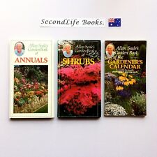 x3 ALLAN SEALE'S GARDEN BOOK OF THE SHRUBS, ANNUALS & GARDENER'S CALENDAR.