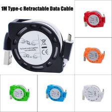 Retráctil Tipo-C Cable De Datos Del Cargador para cargar Cuerda Samsung Galaxy