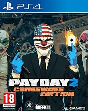 PAYDAY 2 CRIMEWAVE EDITION EDITION PS4 GIOCO PAL ITALIANO GAME PLAY STATION 4