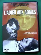 "DVD "" L'Adieu aux Armes "" / Gary Cooper / Helen Hayes"