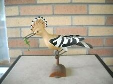 VINTAGE BACHMANN BIRDS OF THE WORLD HOOPOE BUILT-UP AND PAINTED  PLASTIC MODEL