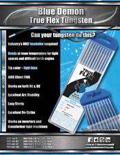 Tungsten Electrode Bendable True Flex 10 Pack Blue Demon
